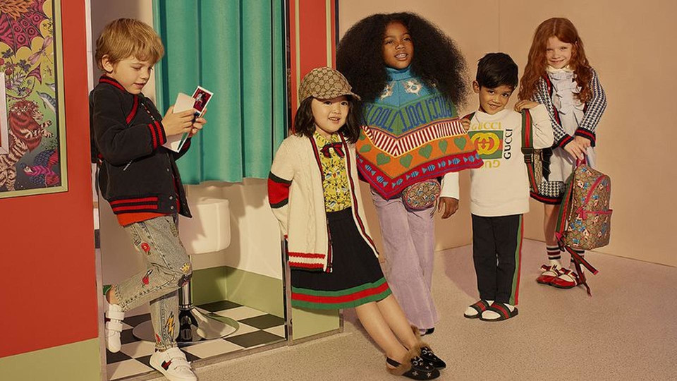 Gucci Kids Fall/Winter 2018