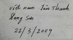 Vietnamese Signature, Book of Names