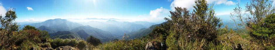 Learn to Hike in Taiwan 4: Jiali Mountain Part I, There and Back Again (加里山)