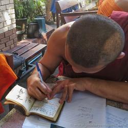 Signing in Lana