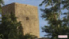 la torre calatraba del castillo de Priego de Córdoba