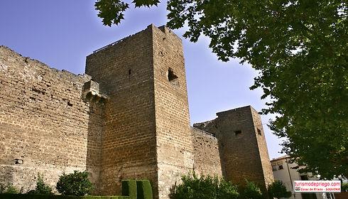 el Castillo de Priego de Córdoba