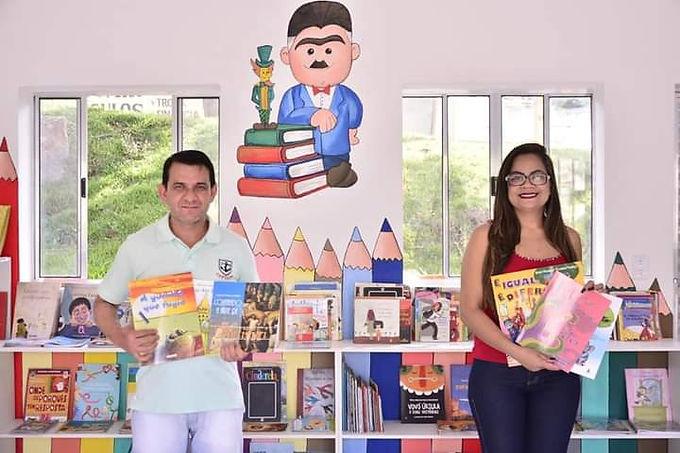 "Biblioteca Municipal Infantil ""Monteiro Lobato"""