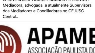 Entrevista da APAMEC com Andréa Bussab Paternost