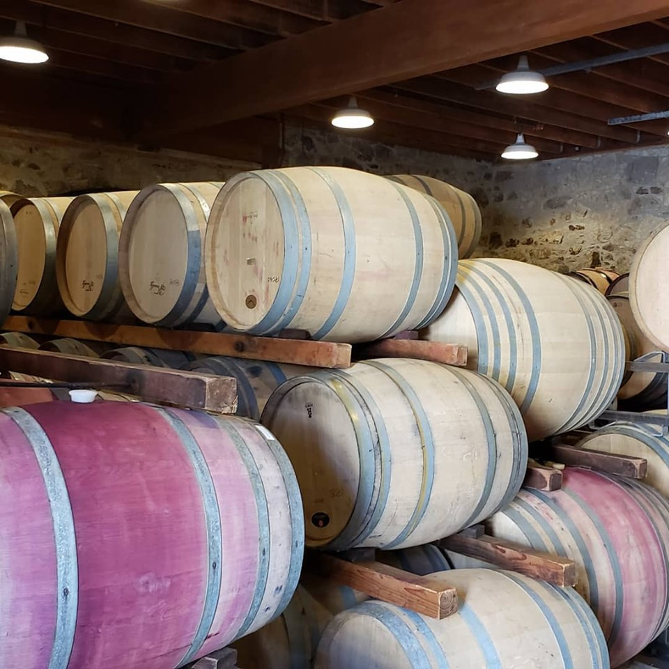 Spottswoode Barrel Room