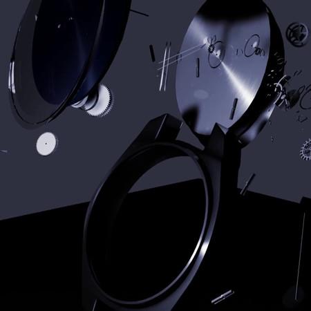 Reloj animado 3d