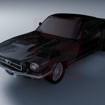Modelado 3d automovilístico