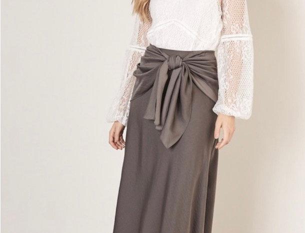 Ash Grey Skirt