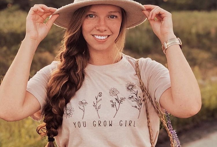 You Grow Girl T-shirt