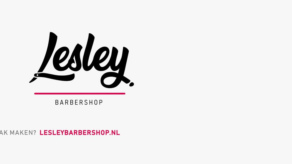 Lesley Barbershop advertentie De KomEet