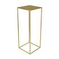 Gold pedestal stands - ideal for wedding and event centrepieses