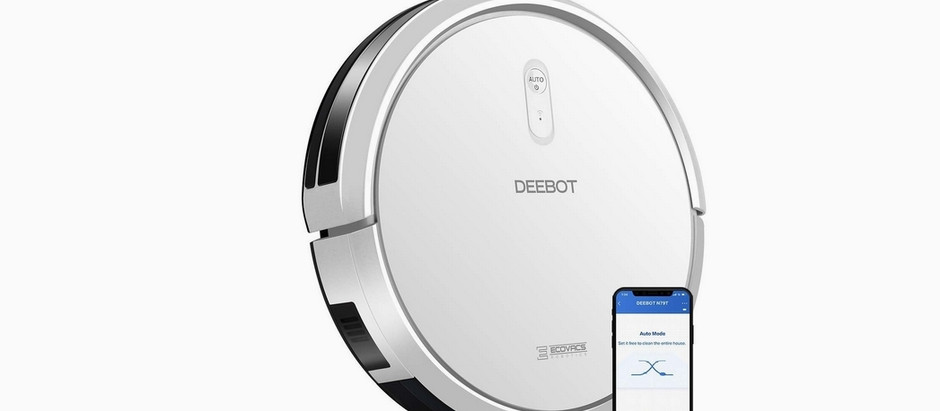 ECOVACS DEEBOT N79T Robotics Vacuum Clean 3-Stage Cleaning System App Control