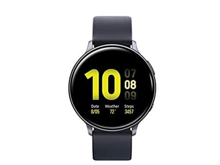 Samsung Galaxy Watch Active2  (40mm), Aqua Black - US Version with Warranty