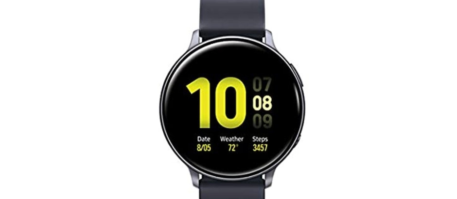 Samsung Galaxy Watch Active2  (40mm), Aqua Black - US Version with Warranty