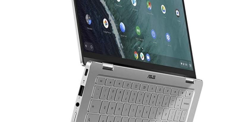 ASUS ASUS Chromebook Flip C434, Silver