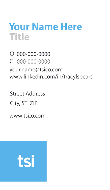 TSI Business Cards