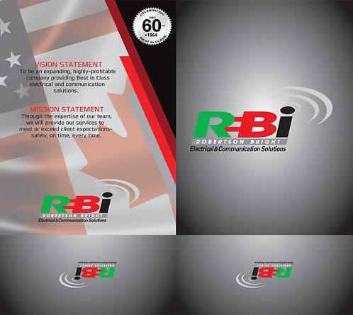 Robertson Bright Presentation Folder