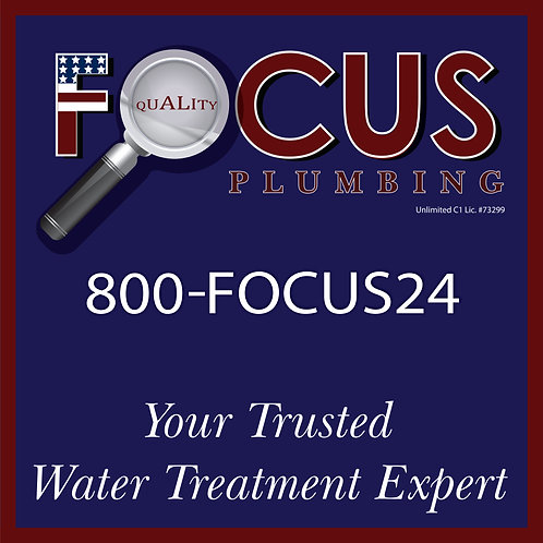 Focus - Yard Sign Water Treatment