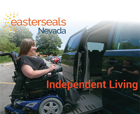 Easter Seals Postcard - Independent Living