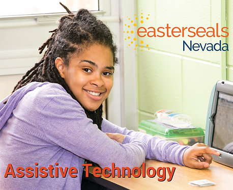 Easter Seals Postcard - Assistive Technology