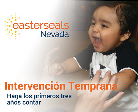 Easter Seals Postcard - Early Intervention Spanish