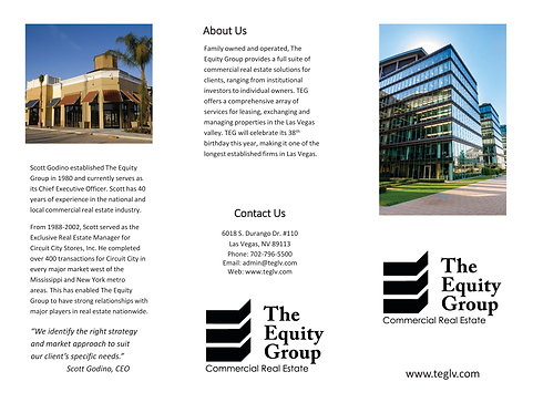 Equity Group Brochure