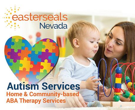 Easter Seals Postcard - Autism Services