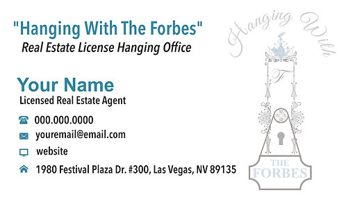 Hanging with the Forbes- Business Cards