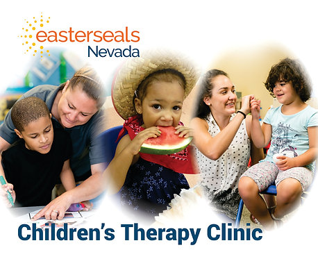 Easter Seals Postcard - Childrens Therapy