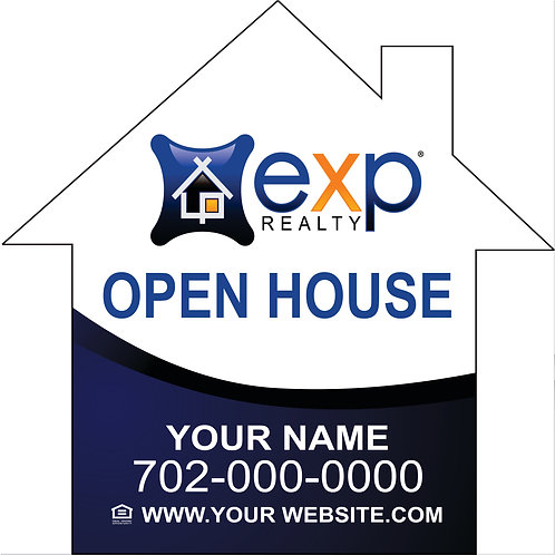 eXp - Open House _House Shape