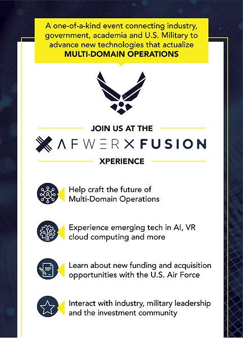 AFWERX  Fusion 5 x 7 Post Card _16 Pt Matte