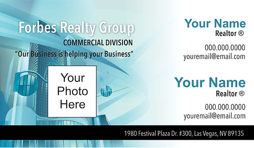 Forbes Commercial - Business Cards