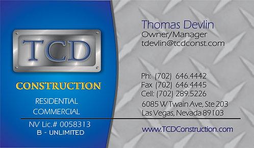 TCD Construction BC