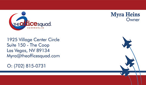 Office Squad Summerlin- Business Card