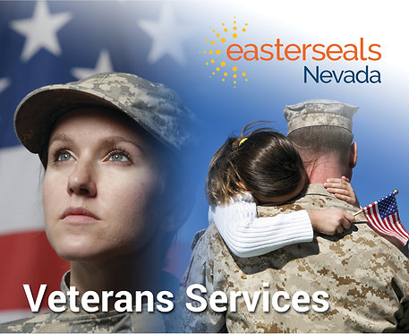Easter Seals Postcard - Veterans Services