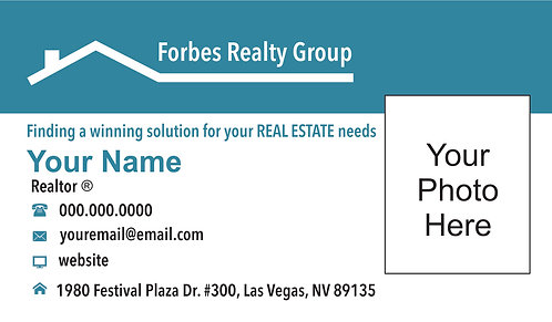 Forbes Realty - Business Cards