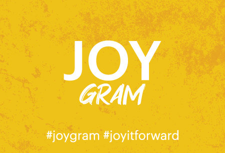 JOY GRAM Package of 100 (Post Card Size)