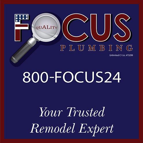 Focus - Yard Sign Remodel Expert