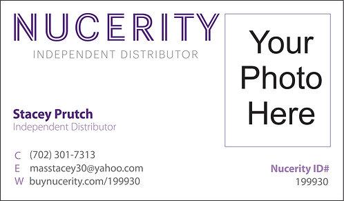 Nucerity - Photo Business Card