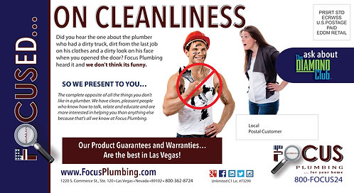 Focus Plumbing PC - Cleanliness Hard Hat