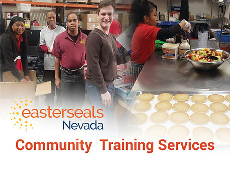 Easter Seals Postcard - Community Training