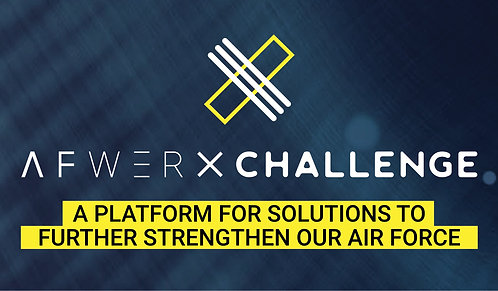 AFWERX Challenge Business Cards 38 pt Trifecta Velvet Finish