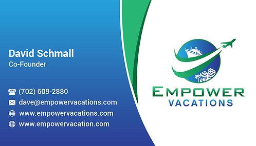 Empower 1/2 Business Card - 14 pt Gloss