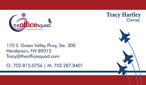 Office Squad Henderson- Business Card
