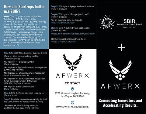 AFWERX-Brochure - SBIR