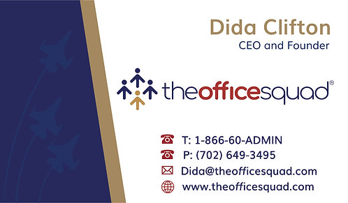 Office Squad Main- Business Card