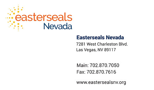 Easter Seals Business Cards