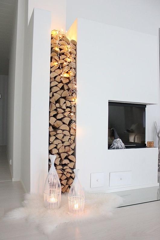 20 tendances & idées pour votre cheminée