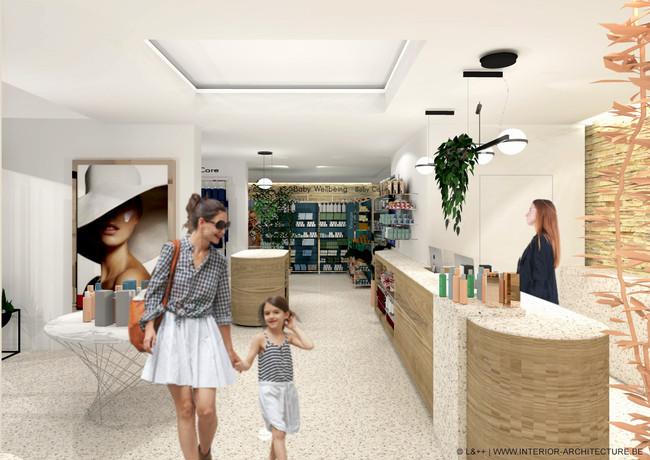 IU by L&++ | Parapharmacy interior design