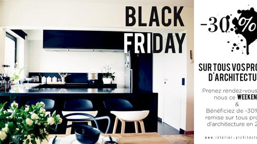 BLACK FRIDAY -30% SUR TOUS PROJETS D'ARCHITECTURE